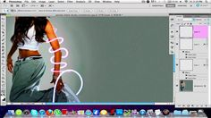 Photoshop CS5 Glowing curves Tutorial it tells you step by step how to do light stricks on a picture strolling on somebodys body.