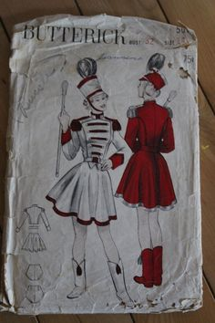 Your place to buy and sell all things handmade Color Guard Uniforms, Zombie Prom, Drum Major, Vogue Sewing Patterns, Lonely Heart, Costume Design, Drill, Arts And Crafts, Legally Blonde