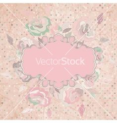 Vintage card with rose eps 8 vector 959800 - by beresdmit on VectorStock®