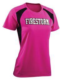 You can customize this Girls Torrent Tech Tee at LogoSportswear.com