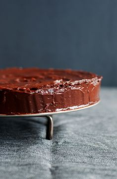 Julia Childs recipe: it's actually the cake my mom always makes me for my birthday