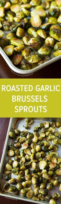 If you need to convince someone to like brussels sprouts or it's their first time trying them; the best way to have brussels sprouts is to roast them!