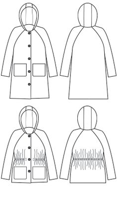 Waver jacket from papercut patterns. Sewing Coat, Sewing Clothes, Diy Clothes, Sewing Blogs, Sewing Tutorials, Sewing Projects, Coat Patterns, Pdf Sewing Patterns, Pattern Library
