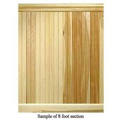House of Fara, 8 Linear ft. Hickory Tongue and Groove Wainscot Paneling, 32HKIT at The Home Depot - Mobile