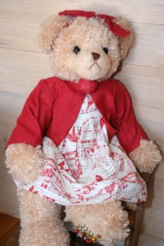 Martha is a Settler Bear from the Gingerah Collection. Price: $110.25 SHIP WORLDWIDE Email: mailto:toodledoo@bigpond.com www.settlerbearsa..., Mobile: 0433 253 800 Toodle Doo - the MAGIC place to shop!