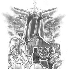 Pink Floyd inspired tattoo needed for Floyd!! Diseño de Migsdraws