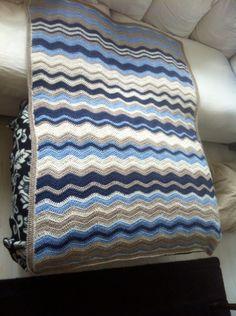 Ripple deken naar patroon van Lucy 'attic 24'