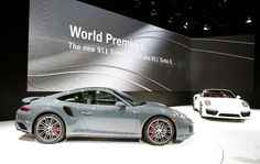 The new 2017 Porsche 911 Turbo and 911 Turbo S make their world debut.