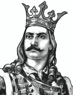 """Stephen III of Moldavia (also known as Stefan the Great, Romanian: Ștefan cel Mare, or """"Stefan the Great and Holy""""; 1433 – July was Prince of Moldavia between 1457 and 1504 and the most prominent representative of the House of Mușat. Moldova, Dracula, Middle Ages, Romania, Medieval, Statue, Drawings, Bulgaria, Movie Posters"""