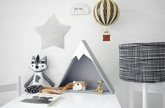 DIY shelves for kids room! Baby Boy Rooms, Baby Bedroom, Kids Bedroom, Bedroom Ideas, Baby Decor, Kids Decor, Nursery Decor, Childrens Shelves, Diy Home Decor For Apartments