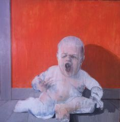 The Infant Francis Bacon Screaming, David Edward Allen Francis Bacon, Max Ernst, Edvard Munch, Michel Leiris, Modern Art, Contemporary Art, Amedeo Modigliani, Outdoor Art, Pablo Picasso