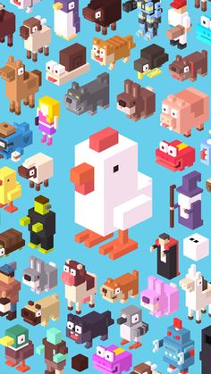 Crossy Road Chicken Papercrafts Free Download httpwww