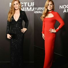 Lindos looks da Nocturnal Animals premiere, em Nova York. Isla Fisher e Amy Adams vestem #tomford.♥️ #glamourous #islafisher #amyadams #fashionstyles #nocturnalanimals #premiere #newyork