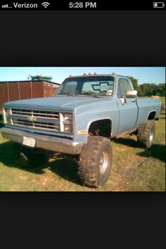 Nice old Chevy truck