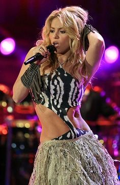 Shakira's 20 Hottest Stage Outfits