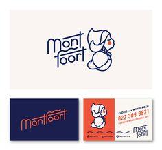 Lovely branding project for Montfoort designed by Playhaus . Typography Logo, Logo Branding, Lettering, Brand Identity Design, Graphic Design Branding, Dessert Logo, Logo Luxury, Bakery Logo, Cafe Logo