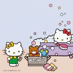 Sanrio: Hello Kitty & Mimmy:)