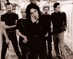 Photo Of The Day : Number 418 NINE INCH NAILS August.17.1995 press shoot for 'The Downward Spiral' album campaign New Orleans. La. Photo by Kevin Westenberg