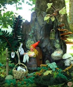 Gnome home diorama — Phoebe Wahl