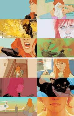 "Black Widow; ""Even if I could forgive myself, this is what I am now. You'll never know who I was before."""
