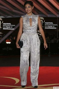 Golshifteh Farahani in International Film Festival on November 29, 2013 in Marrakech, Morocco.