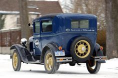 365 Days of A: One man's quest to drive a Ford Model A for entire ...