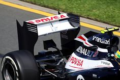 new wing let of Williams F1