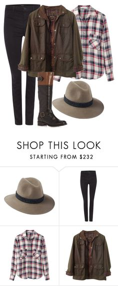 """Country Girl #2"" by mari-marishka ❤ liked on Polyvore featuring Penmayne of London, J Brand, Étoile Isabel Marant, Barbour, Dorothy Perkins and country"
