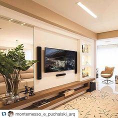 #Repost @montemesso_e_puchalski_arq With @repostapp. ・・・ Lindo #interiores  #decor · Instagram RepostLove HomeInteriorBeArchitectureIdeas