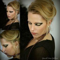 Diseño de maquillaje forman la plantilla****** Layout Make up Vorlage schminken