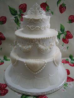 Royal icing Wedding cake 2