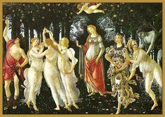 Charles Fonseca: Alegoria da Primavera. Sandro Botticelli. Pintura