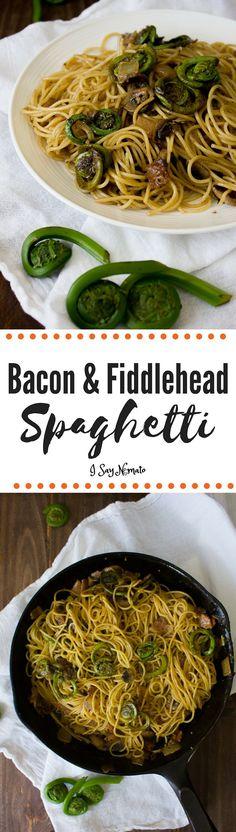 Bacon & Fiddlehead