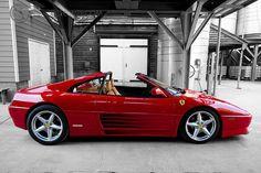 Ferrari 348 TS. I think one of the prettiest Ferrari designs.