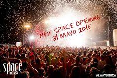 Space Opening 31 de Mayo!  Te lo vas a perder????