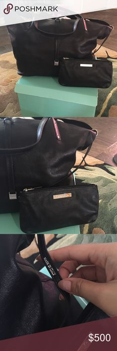 💯Authentic Tiffany$Co. Reversible leather bag It's band new reversible large leather and suede shoulder bag. Tiffany & Co. Bags Shoulder Bags