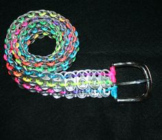 Pop Can Tab Belt  Choose Your Colors by eclecticKel on Etsy