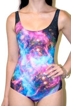 Galaxy Black Hole Swimsuit by Black Milk Clothing