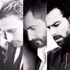 Line of Durin: Dean O'Gorman, Richard Armittage & Aidan Turner The flipping line of Durin, though. Seriously.