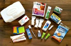 "My ""Sample Size"" First-Aid Kit"