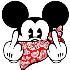 fuck off Mickey