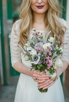 24 Wildflower Wedding Bouquets Not Just For The Country Wedding