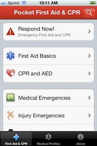 Pocket First Aid & CPR app from the American Heart Association. Could be a lifesaver! Disaster Preparedness, Survival Prepping, Survival Skills, Hurricane Preparedness, Emergency First Aid, In Case Of Emergency, Emergency Planning, Apps For Moms, First Aid Cpr
