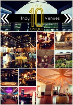 Loved assembling this list of the Top 10 Most Unique Event Venues in #Indianapolis. Not sure you agree? No worries...check out the 1,500+ additional event #venues on this site as well. #Snappening