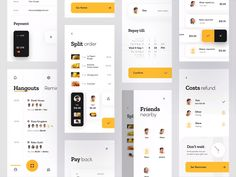 Every day most digital designers look for inspiration on sources like Dribbble or Behance for mobile and webdesign UI/UX works. Layout Design, Application Ui Design, Interaktives Design, App Ui Design, Global Design, User Interface Design, Graphic Design, App Design Inspiration, Design Websites