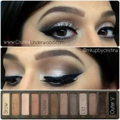 Urban Decay Naked Palette 2 | Makeup Look | Makeup by Cristina Underwood