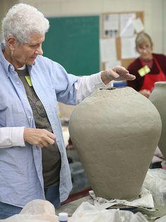 Handbuilding - Tricks of the Trade with Vince Pitelka by John C. Campbell Folk School, via Flickr