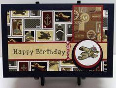 Vintage Airplane Birthday by heyjudet - Cards and Paper Crafts at Splitcoaststampers