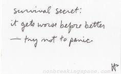 Survival Segret
