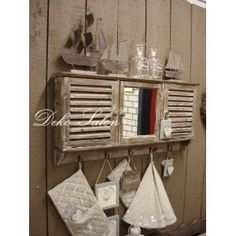 Sekretar landhausstil shabby chic vintage weiss cottage for Küche shabby chic